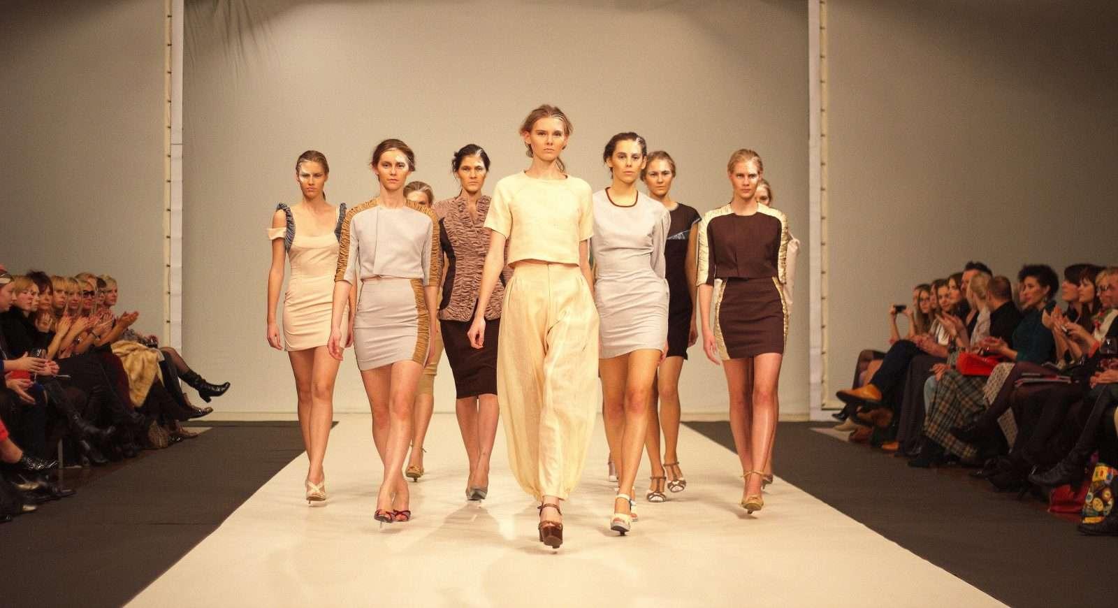 Видеосъемка показа мод